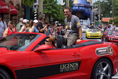 Celebrity Guest Steve Blum during Star Wars Weekends 2014 Royalty Free Stock Photography