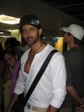 Celebrity Hrithik Roshan winking Royalty Free Stock Images