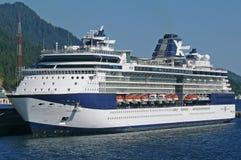 Celebrity Infinity. Docked in Ketchikan, Alaska, Celebrity Cruises stock photography
