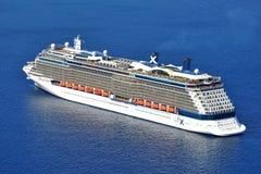 Celebrity Reflection. Cruise ship Celebrity Reflection at sea stock photo
