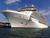 Celebrity Reflection. Cruise ship Celebrity Reflection at sea Stock Images