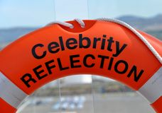 Celebrity Reflection life bouy Royalty Free Stock Photography