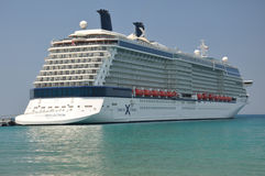 Celebrity Reflection. Modern cruise liner stock photography