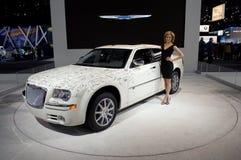 Celebrity Signed Car Royalty Free Stock Photo