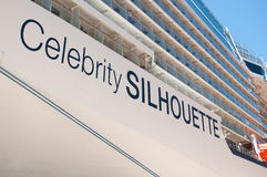Celebrity Silhouette Royalty Free Stock Image