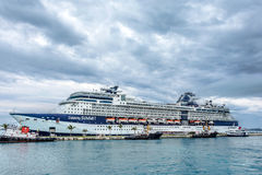 Celebrity Summit in Port Royalty Free Stock Photography