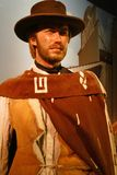 Celebrity Wax Model Clint Eastwood Royalty Free Stock Photography