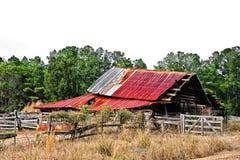 Celeiro abandonado velho Imagem de Stock Royalty Free
