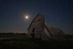 Celeiro da Lua cheia Foto de Stock Royalty Free