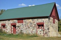 Celeiro da pedra de campo da família dos estoques - moraine da chaleira imagens de stock royalty free