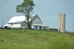 Celeiro de Amish imagens de stock