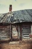 Celeiro de madeira abandonado velho Imagens de Stock Royalty Free