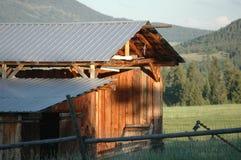 Celeiro de Montana Imagens de Stock