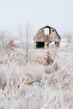 Celeiro do inverno imagem de stock royalty free