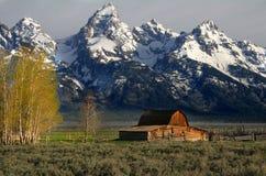 Celeiro famoso de Jackson Hole Imagens de Stock Royalty Free