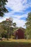 Celeiro rústico de Nova Inglaterra Fotografia de Stock