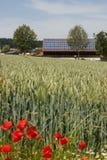 Celeiro solar Imagens de Stock Royalty Free