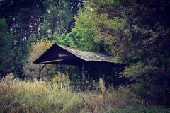 Celeiro velho abandonado Fotografia de Stock