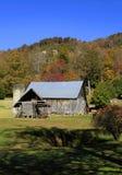 Celeiro velho perto de Hendersonville NC Fotografia de Stock Royalty Free