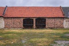 Celeiros velhos em Zarki Fotografia de Stock Royalty Free