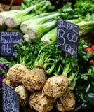 Celeriac для продажи Стоковая Фотография RF