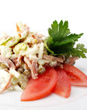 Celery and Chicken Salad Stock Photography