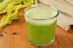 Celery juice Royalty Free Stock Image