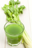 Celery juice Royalty Free Stock Photos