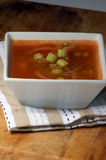 Celery and onion soup Stock Image