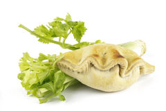 Celery and Pasty Royalty Free Stock Image