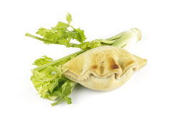 Celery and Pasty Royalty Free Stock Photo