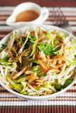 Celery salad with zucchini Stock Image