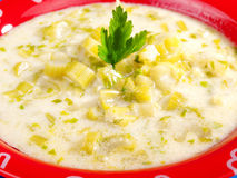 Celery soup Stock Images