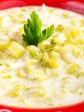 Celery soup Royalty Free Stock Photography