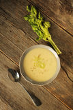 Celery soup Royalty Free Stock Photos