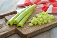 Celery stems Stock Photos
