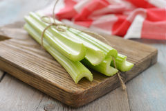 Celery stems Royalty Free Stock Image