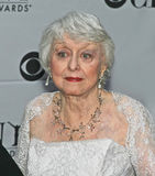 Celeste Holm. Oscar winning actress Celeste Holm arrives on the red carpet for the 61st Annual Tony Awards at Radio City Music Hall in New York City on June 10 Stock Image