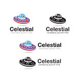 Celestial Bodies voor Jonge geitjesspeelgoed Royalty-vrije Stock Afbeeldingen