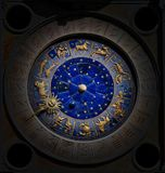 Celestial Clock Royalty Free Stock Images