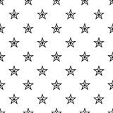 Celestial figure star pattern, simple style. Celestial figure star pattern. Simple illustration of celestial figure star vector pattern for web Royalty Free Stock Images