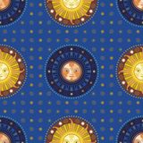 Celestial Pattern Stock Images