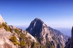 Celestial peak yellow mountain Royalty Free Stock Photo