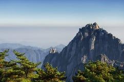 Celestial peak yellow mountain Royalty Free Stock Photos