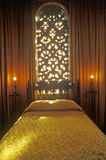 Celestial Suite Bedroom at the Hearst Castle, San Simeon, Central Coast, California Stock Images