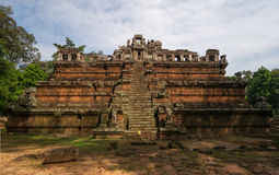 The celestial temple Phimeanakas Stock Images