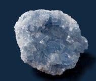 Celestine mineral Foto de archivo libre de regalías