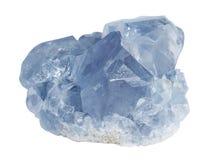 Celestine minerale Immagine Stock