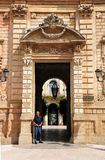 Celestines  Palace in Lecce Royalty Free Stock Photo