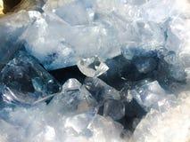 Celestite Geode Crystal Stock Photo